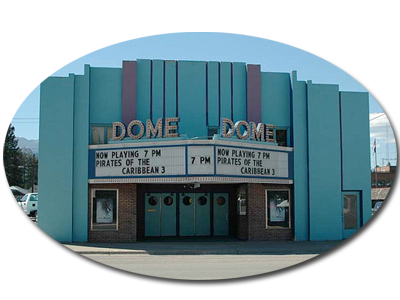 The Dome Theater Project in Libby Montana